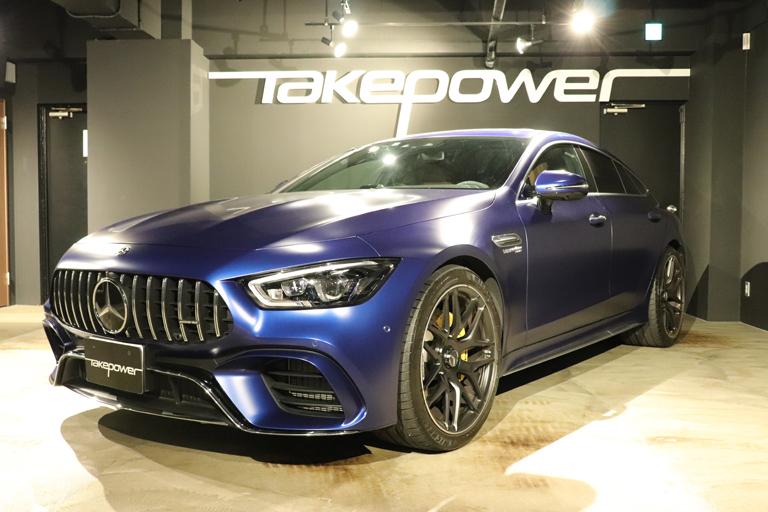 メルセデスAMG GT 4ドアクーペ63S 4マチックプラス 4WD